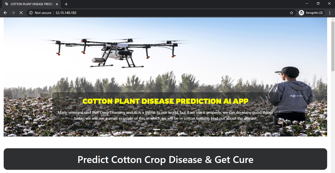 cotton_pant_disease_prediction-AI-App-web-page