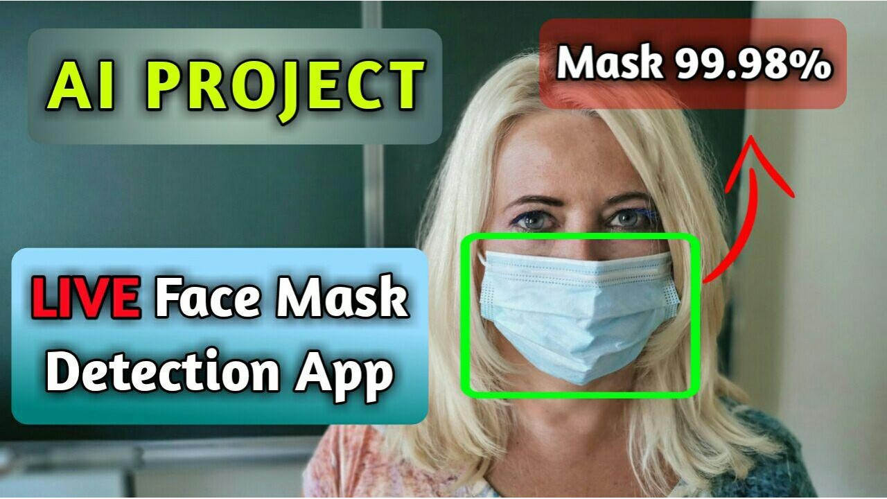 live face mask detection
